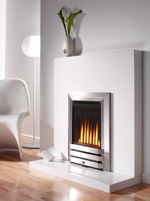 Flavel Atlanta Inset Gas Fire Modern Inset Design With Flame Effect