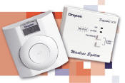 Drayton wireless +RF digital room thermostat