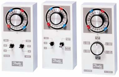Danfoss 3020P, 3060 and 4033 electro mechanical central heating programmers