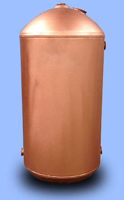 Copper cylinders hot water cylinders and thermal stores for Copper hot water tank