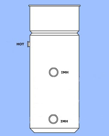 Economy 7 Maxistore Copper Hot water cylinders