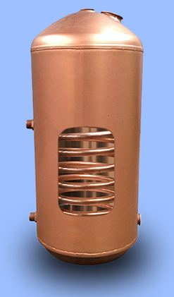Indirect hot water cylinders for Copper hot water tank