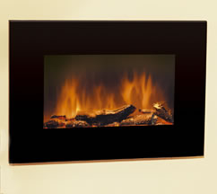 Dimplex Sp9 Wall Hung Electric Fire Plasma Tv Style