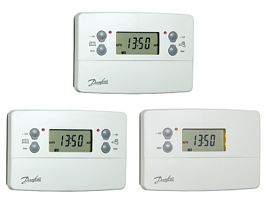 Danfoss TS715si, CP715si and FP715si central heating programmers