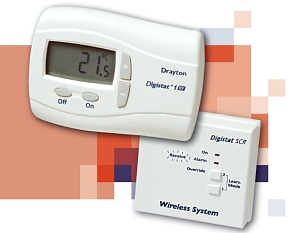 Drayton +1RF wireless digital room thermostat