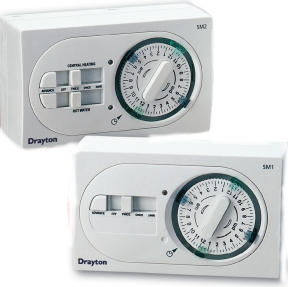 Drayton Sm1 And Sm2 Single And Twin Channel Mechanical