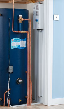 Torrent Re Renewable Energy Solar Gain Cylinders Giving Mains Pressure Hot Water