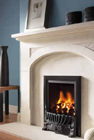 Flavel Kenilworth Gas Fire Open Fronted Traditional